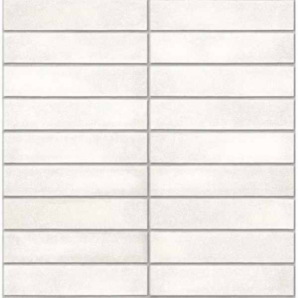 Picture of Midcentury Modern White Brick Wallpaper