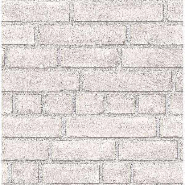 Picture of Façade Dove Brick Wallpaper
