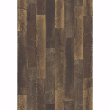 Picture of Antique Floorboards Brown Wood Wallpaper