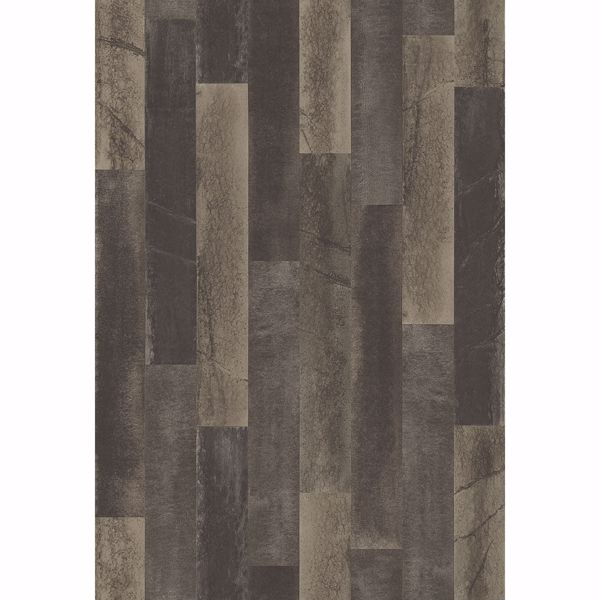 Picture of Antique Floorboards Grey Wood Wallpaper