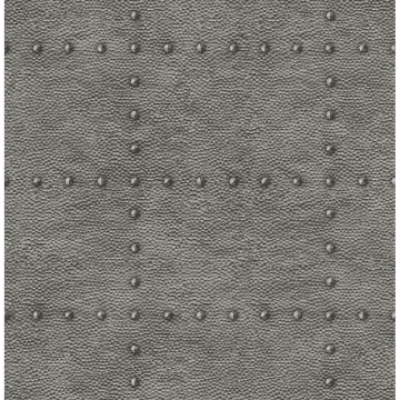 Picture of Otto Pewter Hammered Metal Wallpaper