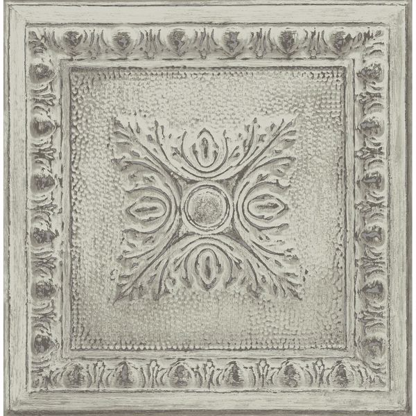 Picture of Ornamental Mint Tin Tile Wallpaper