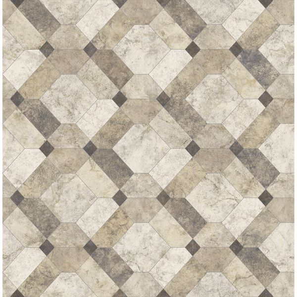 Picture of Devonshire Beige Marble Wallpaper