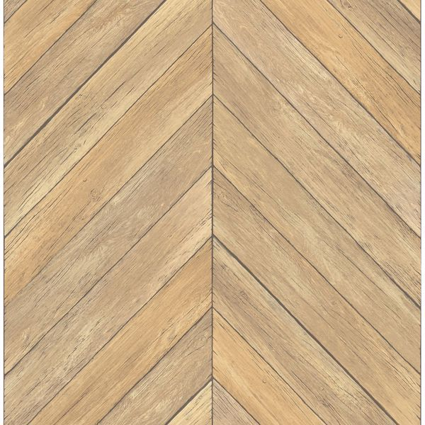 Picture of Parisian Wheat Parquet Wallpaper