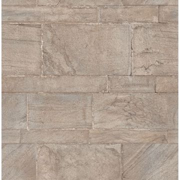Picture of Clifton Platinum Sandstone Wallpaper