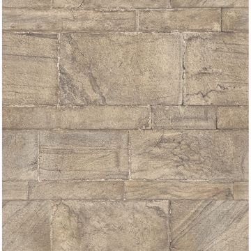 Picture of Clifton Bone Sandstone Wallpaper