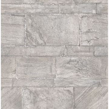 Picture of Clifton Silver Sandstone Wallpaper