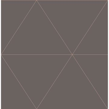 Picture of Twilight Grey Geometric Wallpaper