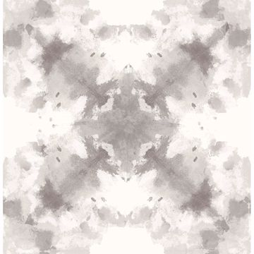 Picture of Mysterious Taupe Abstract Wallpaper