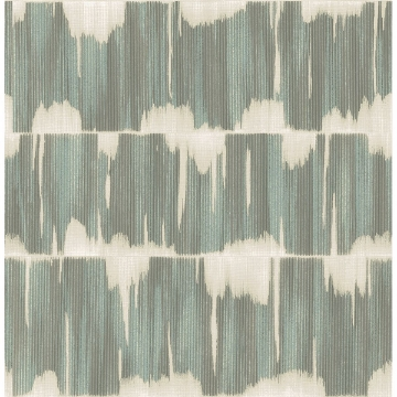 Picture of Serendipity Teal Shibori Wallpaper
