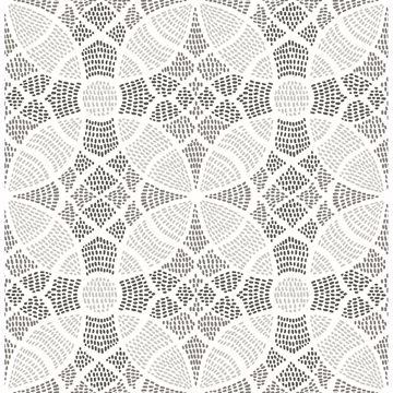 Picture of Zazen Grey Geometric Wallpaper