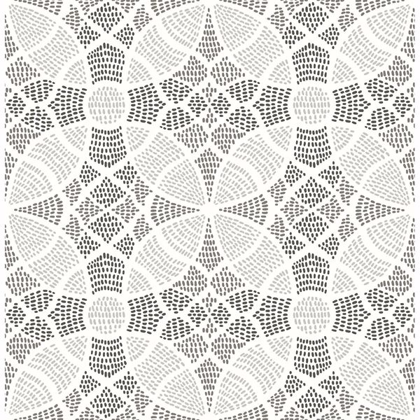 Picture of Zazen Grey Geometric Wallpaper