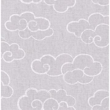 Picture of Skylark Grey Cloud Wallpaper