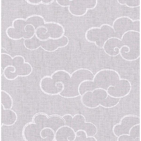Picture of Skylark Grey Cloud Wallpaper