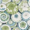 Picture of Mikado Teal Parasol Wallpaper