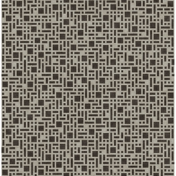 Picture of Bento Brown Geometric Wallpaper