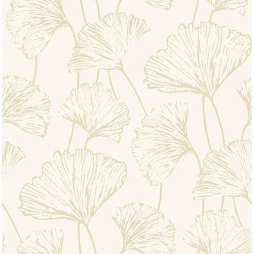 Picture of Reverie Gold Ginkgo Wallpaper