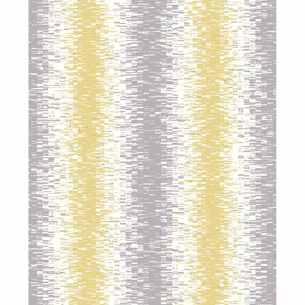 Picture of Quake Yellow Abstract Stripe Wallpaper