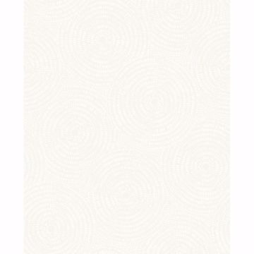 Picture of Ripple White Shibori Wallpaper