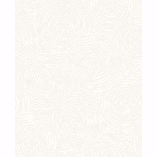 Picture of Ripple White Shibori Wallpaper