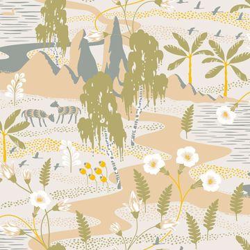 Picture of Magisk Beige Oasis Wallpaper