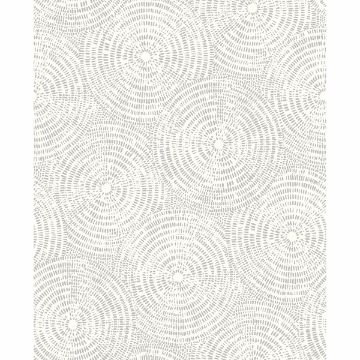 Picture of Ripple Grey Shibori Wallpaper