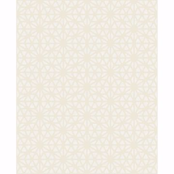 Picture of Prism Bone Geometric Wallpaper
