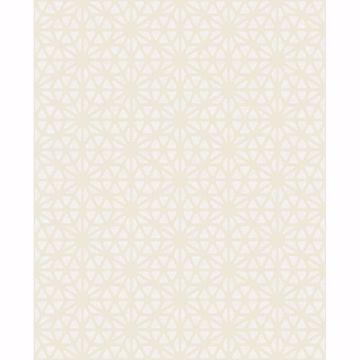 Picture of Prism Bone Geometric Wallpaper