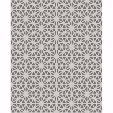 Picture of Prism Slate Geometric Wallpaper