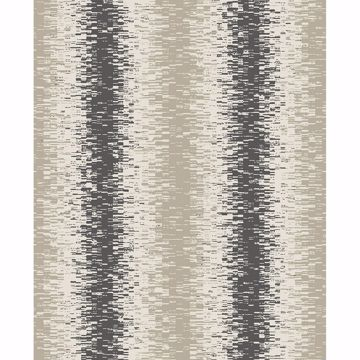 Picture of Quake Taupe Abstract Stripe Wallpaper