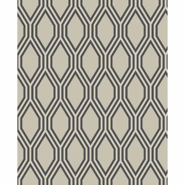 Picture of Honeycomb Beige Geometric Wallpaper