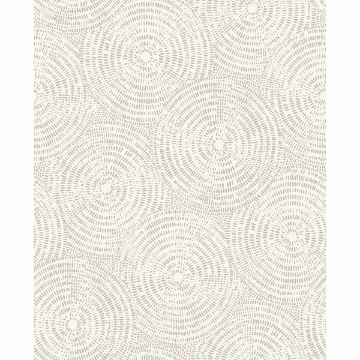 Picture of Ripple Taupe Shibori Wallpaper