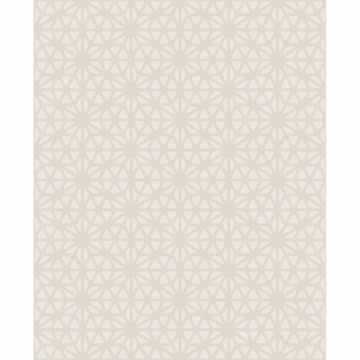 Picture of Prism Neutral Geometric Wallpaper