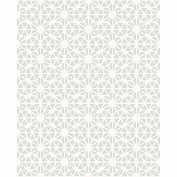 Picture of Prism Light Blue Geometric Wallpaper