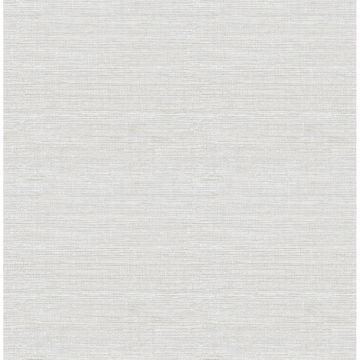 Picture of Lilt Light Blue Faux Grasscloth Wallpaper