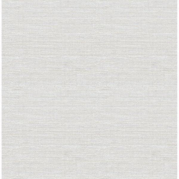 Picture of Lilt Light Blue Faux Grasscloth Wallpaper