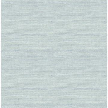 Picture of Lilt Teal Faux Grasscloth Wallpaper