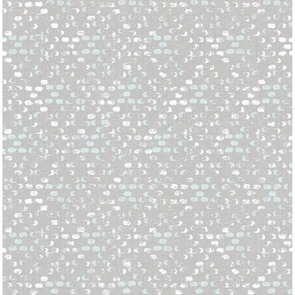 Picture of Blissful Light Blue Harlequin Wallpaper