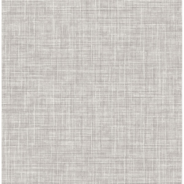 Picture of Poise Grey Linen Wallpaper