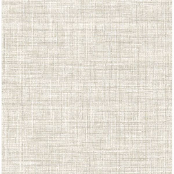 Picture of Poise Beige Linen Wallpaper