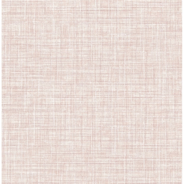 Picture of Poise Pink Linen Wallpaper