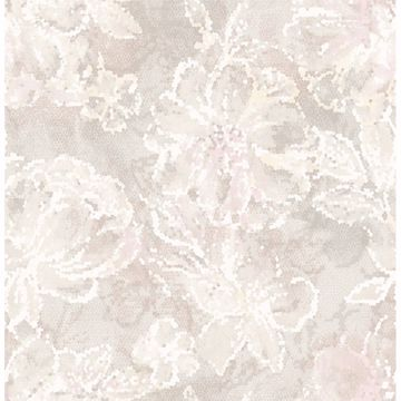 Picture of Allure Blush Floral Wallpaper