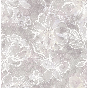 Picture of Allure Lavender Floral Wallpaper