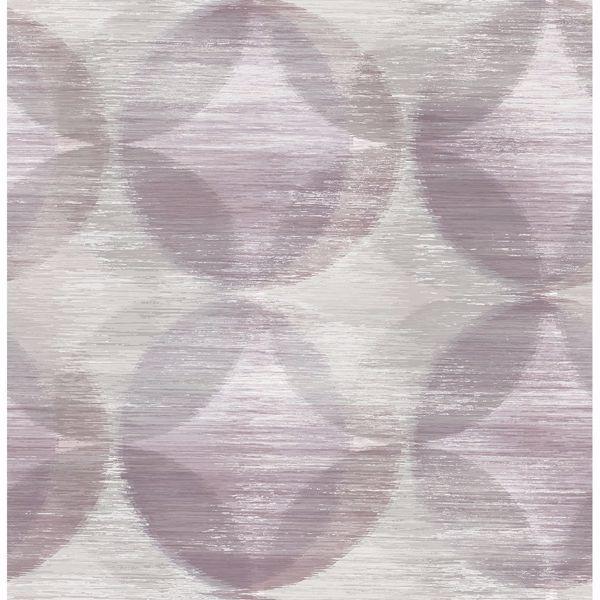 Picture of Alchemy Purple Geometric Wallpaper