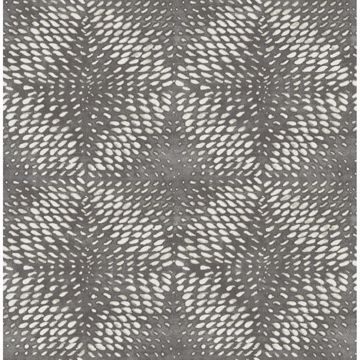 Picture of Ethos Pewter Abstract Wallpaper