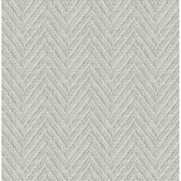 Picture of Ziggity Fog Faux Grasscloth Wallpaper by Sarah Richardson