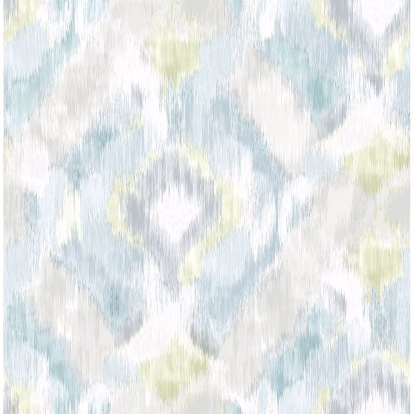 Picture of Mirage Aqua Wallpaper by Sarah Richardson