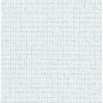 Picture of Aqua Palm Weave Wallpaper by Sarah Richardson
