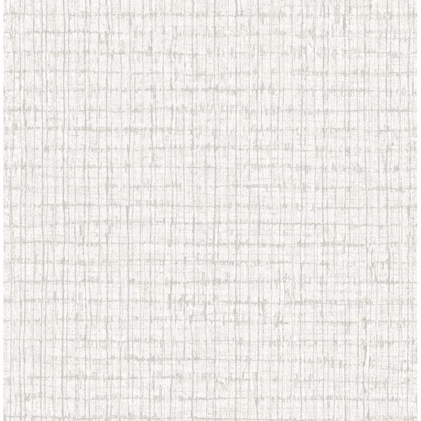 Picture of Platinum Palm Weave Wallpaper by Sarah Richardson