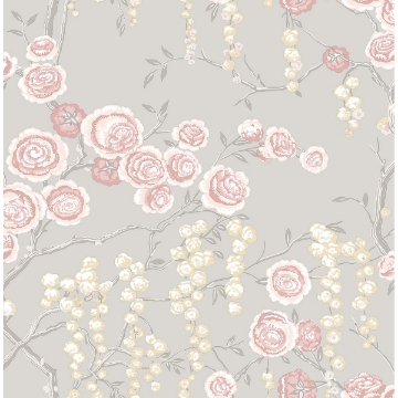 Picture of Peony Tree Petal Wallpaper by Sarah Richardson